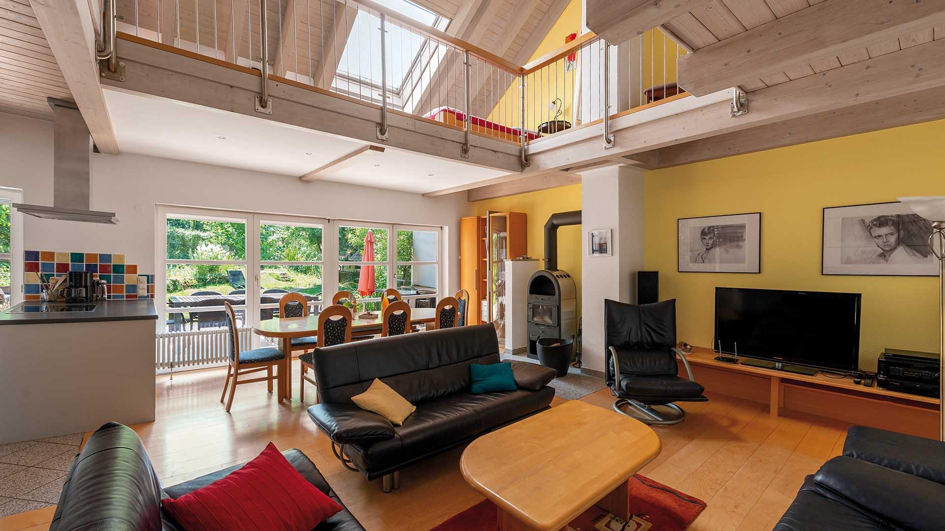 Ferienhaus am Schönwasen - Wohnzimmer