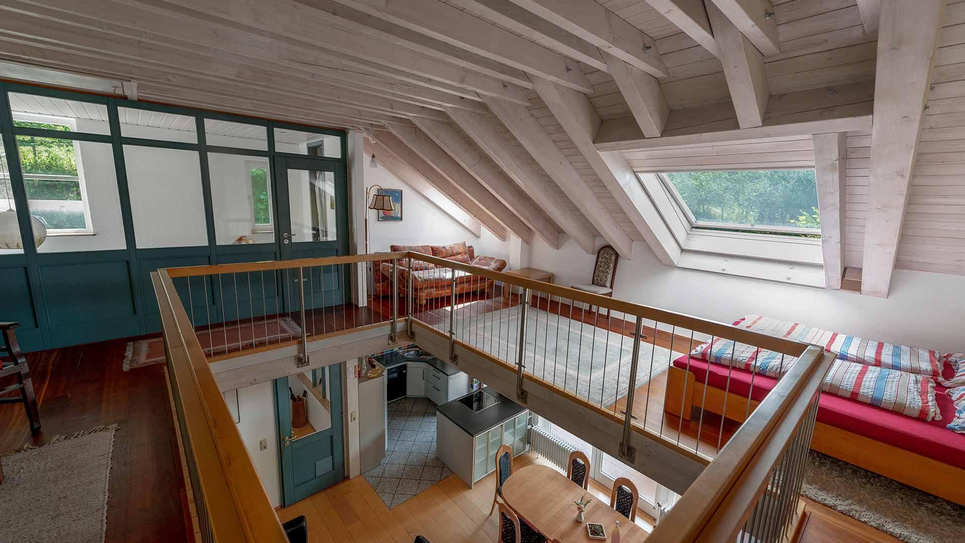 Ferienhaus am Schönwasen - Galerie Obergeschoss