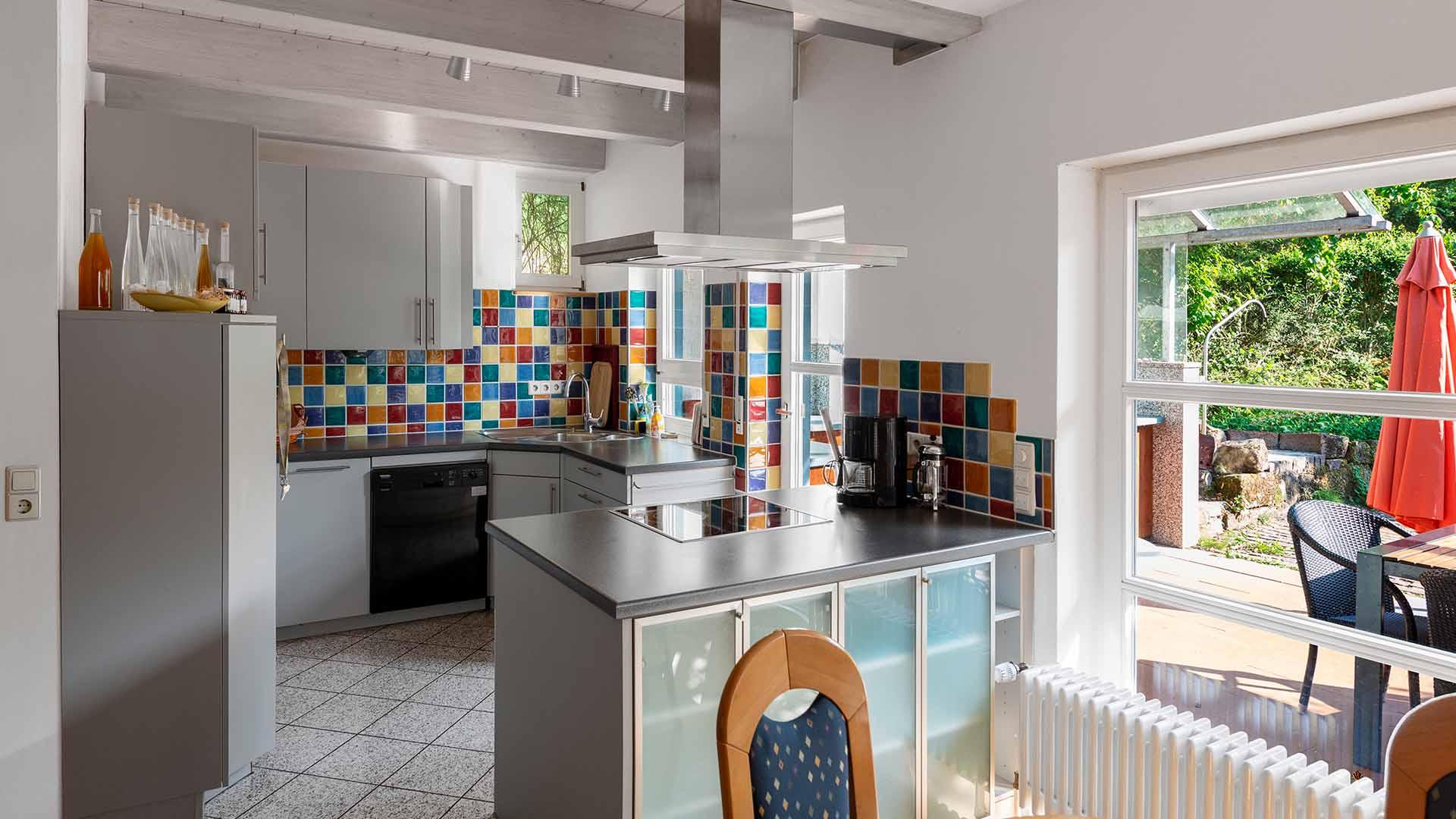 Ferienhaus am Schönwasen - Küche