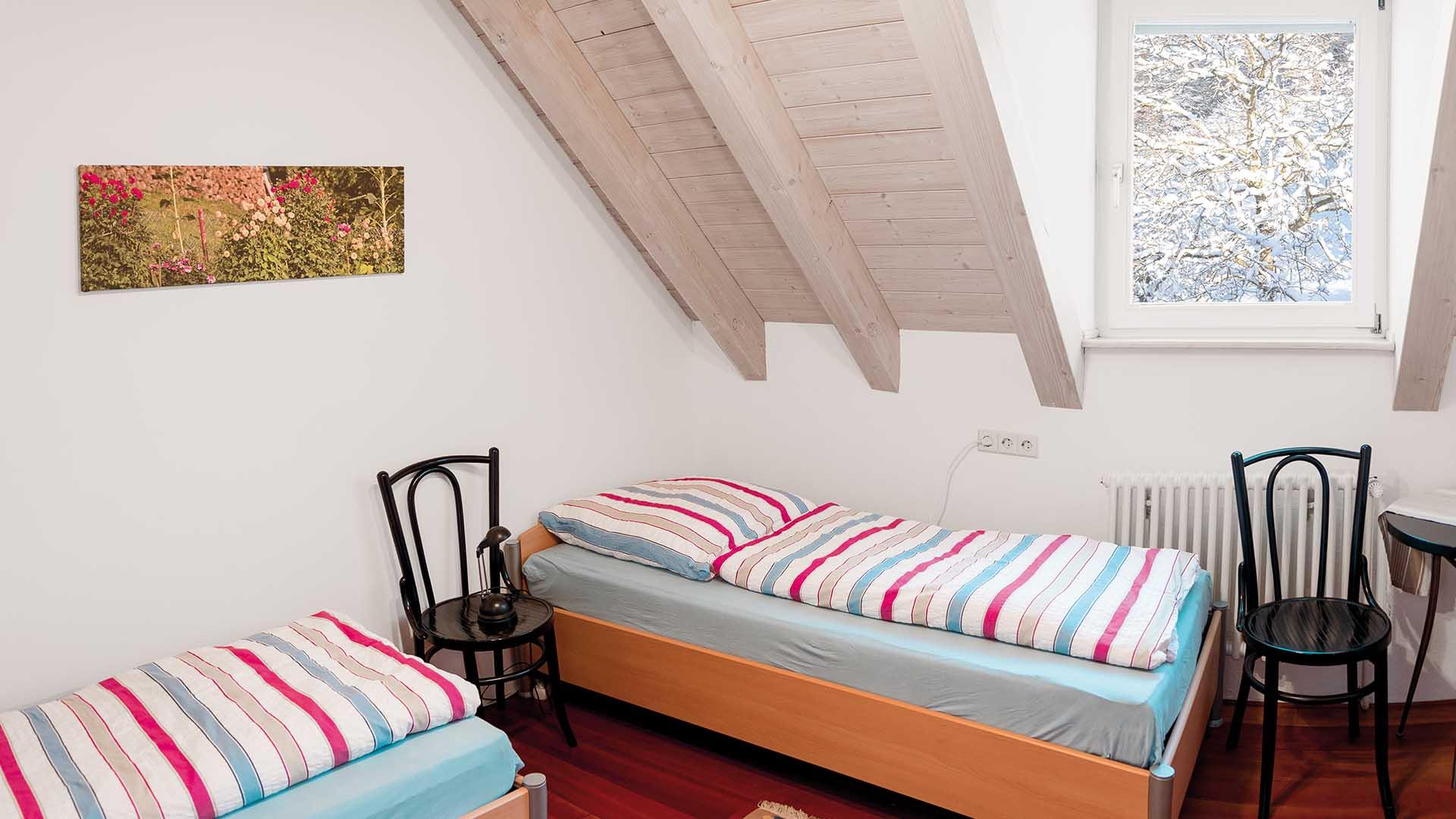 Ferienhaus am Schönwasen - Schlafzimmer Obergeschoss