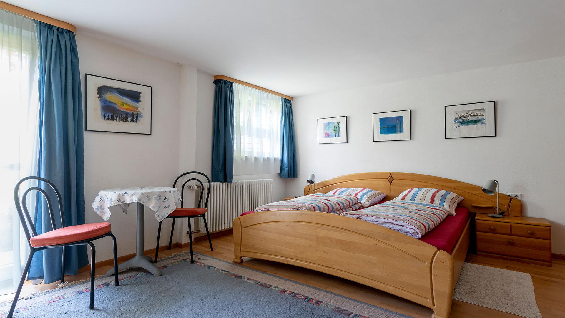 Ferienhaus am Schönwasen - Schlafzimmer Untergeschoss
