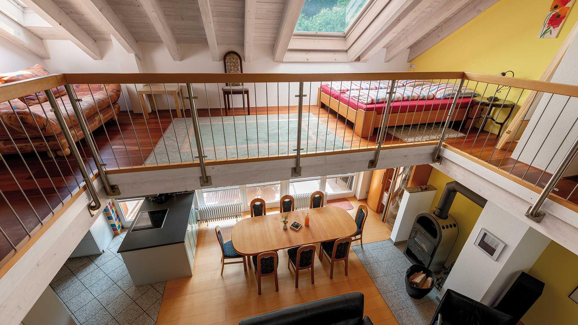 Ferienhaus am Schönwasen - Wohn- und Esszimmer