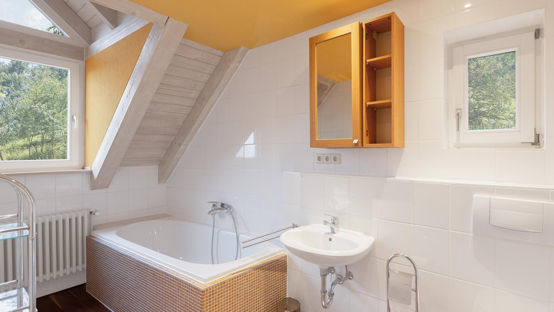Ferienhaus am Schönwasen - Badezimmer Obergeschoss