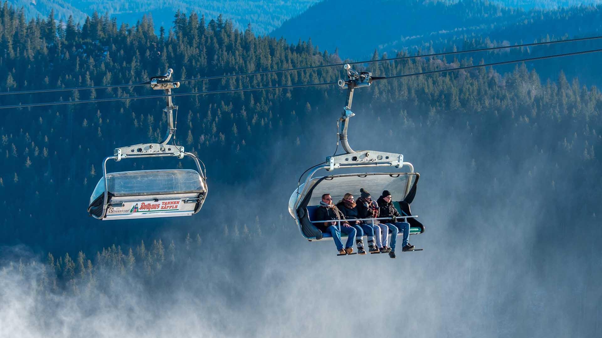 Ausflugsziel Feldberg Skigebiet