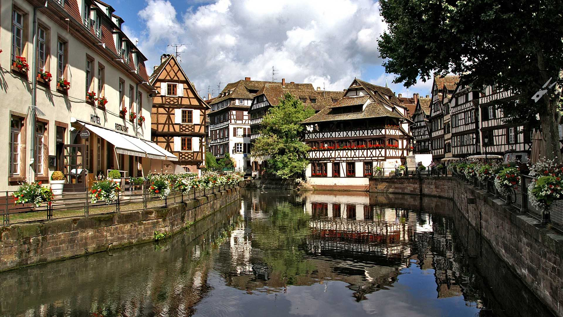 Ausflugsziel Strassbourg im Elsaß
